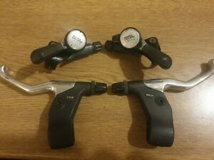 Shimano Deore 2/DX Thumbshifters & Brake Levers  VGC (#2)