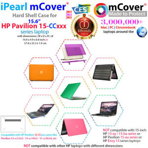 """NEW mCover® Hard Shell Case for 15.6"""" HP Pavilion 15-ccXXX series laptop"""