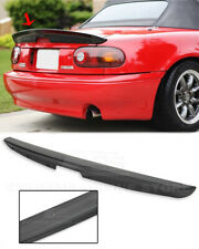 KG WORKS Style Spoiler For 90-97 Mazda Miata MX5 ABS Plastic Rear Trunk Lid Wing