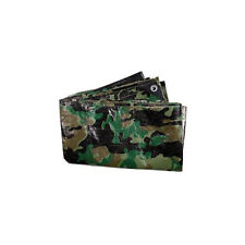Outdoor Camping Survival Camo Camouflage DPM Ground Sheet Tarpaulin 3m x 2m K