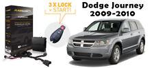Flashlogic Remote Start for 2009 Dodge Journey Tip-Start w/Plug And Play Harness