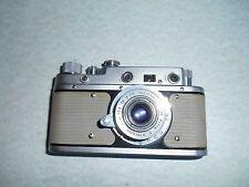 RARE Russian camera WHITE colour ZORKIY-C  ZORKY -S Leica copy, Industar-22