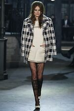 16A Chanel Paris In Rome Fantasy Tweed Coat Jacket 34 36