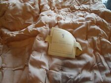 Pottery Barn Kids Amelia Tencel Quilted sham Euro Dusty Rose New