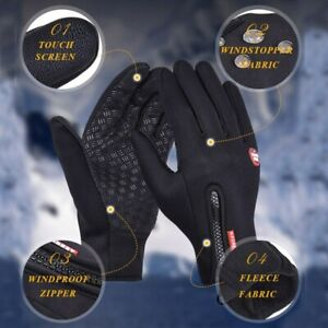 Waterproof Grip Breathable Thermal Fishing Gloves Full Finger Fishing Cycling