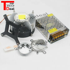 DC12V 20W 30W 50Watt High Power white LED Light + Heatsink+ Driver+LENS