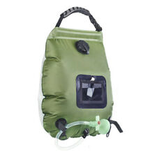 Portable Solar Heated Camping Shower 20L Outdoor Hydration Bag Switchable Hiking