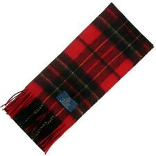 Tartan Republic Brodie Red Modern Tartan Scarf – Scottish Wool Clan Scarves