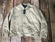 RALPH LAUREN POLO LANDON LINED POPLIN JACKET MENS SIZE XL NEW WITH TAGS $165