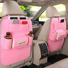 Car Seat Back Multi-Pocket Storage Bag Tidy Organizer Cool Hot Travel Holder