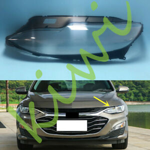 For Chevrolet Malibu 2019-2020 Left Side Headlight Clear Cover + Glue