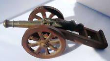 Cannone da campo modellino antico in bronzo