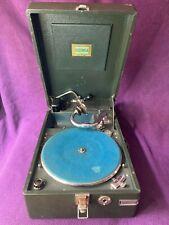 Koffergrammophon Grammophon von Electrola Modell 106 UP mit zwei Schalldosen