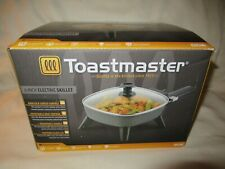 "TOASTMASTER 6"" PERSONAL SIZE NONSTICK ELECTRIC SKILLET TM-601SK NEW"
