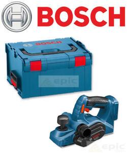 Bosch 18v CORDLESS 82mm Wood Plane/Planer BARE UNIT + Blade & Case 06015A0300