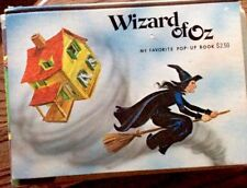 1982 Wizard Of Oz Vtg Like New Pop-up Book By Modern Promotions Childrens Book