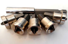 NEW 5pc MAGNETIC DRYWALL DIMPLERS PH2 DIMPLER AND 75MM QUICK CHANGE BIT HOLDER