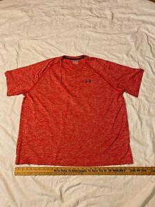 UNDER ARMOUR Heatgear Loose Fit Performance Short Sleeve Athletic Shirt Mens 4XL