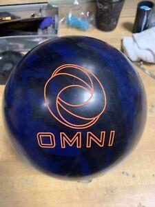 15LB Ebonite Omni Bowling Ball USED BOWLING BALL VG