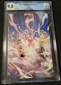 Mighty Morphin Power Rangers #55 1:25 Jamal Campbell Virgin Variant CGC 9.8
