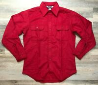 Vintage Red Big Mac JCPenney Made in USA Men's Medium Shirt New Without Tags.