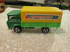 1970's WT Summer Green Covered Transport Cargo Express Delivery Truck HK #M1006