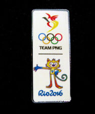 2016 RIO Rare Olympic Papua New Guinea NOC STAFF Limited NOC Team PNG   pin