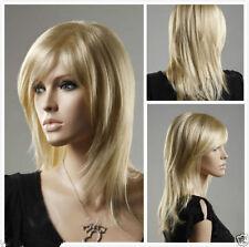 JIAFA544  new Stylish blonde straight hair wigs for women wig