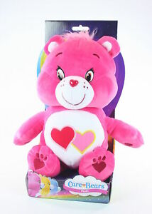 """CARE BEARS plush LOVE-A-LOT BEAR 12"""" soft toy cuddly American Greetings - NEW!"""