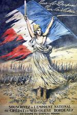 France World War I Enlistment Propaganda Poster 12x18 inch