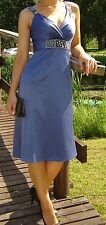 Beautiful Satin Dress by Ann Louise Roswald size 8