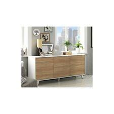Habitdesign 0f6638bo - aparador buffet Salón comedor 3 puertas color (buffet)