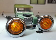Toylander Land Rover Series 1 1/2 Scale LED Amber Indicators Lucas Type x2