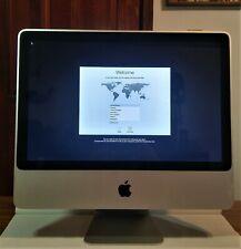 """Apple iMac A1224 20"""" 2.26GHz Core 2 Duo 4GB RAM 160GB HDD OS X El Capitan"""
