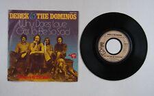 Derek & The Dominos Why Does Love Got To Be So Sad Ger 7in 1973 Demostamp