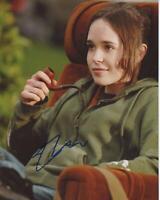 """Ellen Page """"Juno"""" AUTOGRAPH Signed 8x10 Photo"""