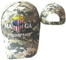 Donald Trump 2020 Punisher Skull ACU Digital Camouflage Cap Hat MAGA