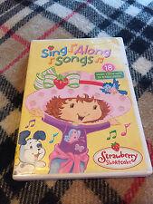 Strawberry Shortcake Sing Along Songs (DVD, 2005) music videos wth lyrics