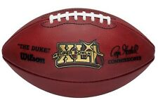 SUPER BOWL 41 Authentic Game Football