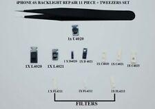 iPhone 6S Réparation Rétro-éclairage Backlight, Filtre, Diode, ic, Pince Fine