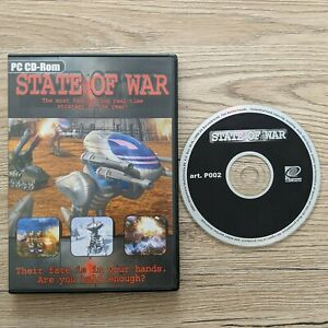 State of War RTS PC CD Video Game Real Time Strategy Game