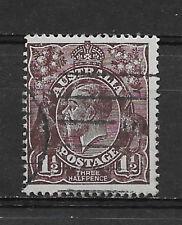Australia , 1918/23, George V , 11/2p Stamp , Perf , Used