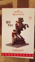 Hallmark 2017 Harry Potter A Dangerous Game Magic Sound Keepsake Ornament NIB