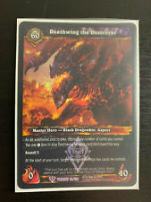 World of Warcraft WoW TCG Promo - Foil Deathwing the Destroyer