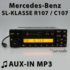 Mercedes Special BE1350 AUX-IN MP3 R107 Radio SL-Klasse C107 Kassettenradio RDS