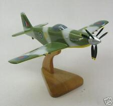 MB-5 Martin-Baker WWII RAF Airplane Wood Model Big