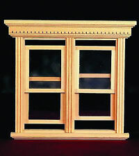 1:12 Scale Working Double Sash Window Frame Dolls House Miniature Accessory 184