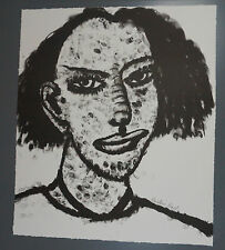 Original signed Gregory Grenon - The Unidentified Woman 1993 - Printer's Proof