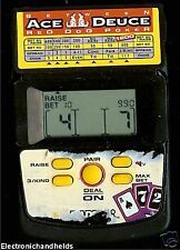 RADICA ACE DEUCE RED DOG POKER CASINO HANDHELD LCD GAME