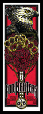 FOO FIGHTERS MELBOURNE 2011 SILKSCREEN GIG POSTER RARE S/N ED
